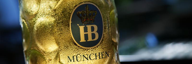 Biergarten Aumeister - HB-Sommerbier am Abend