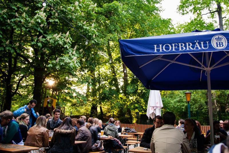 Hofbräukeller - Abendsonne
