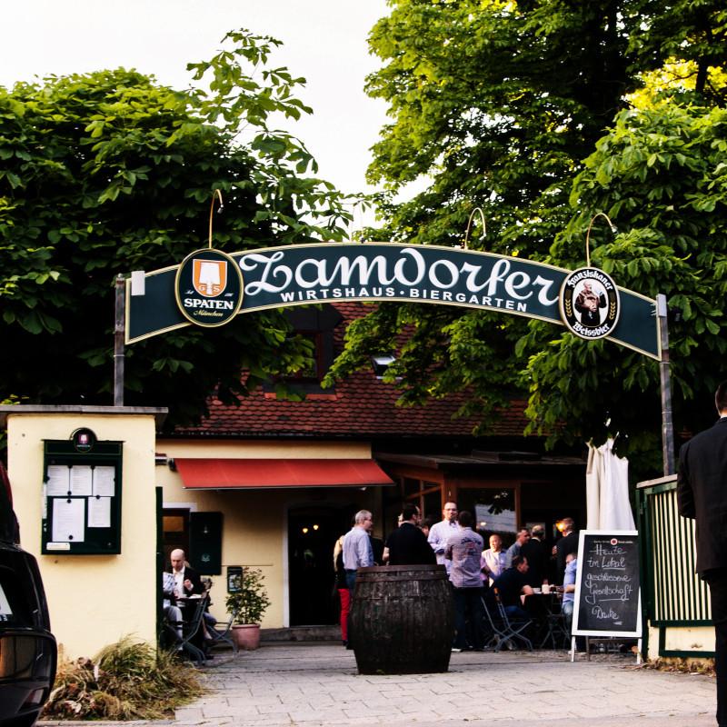 Zamdorfer - Der Eingang